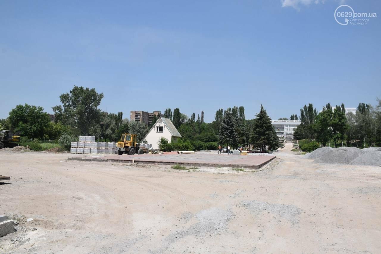 За два месяца до открытия! Как продвинулся ремонт парка им. Гурова, - ФОТОРЕПОРТАЖ, фото-1
