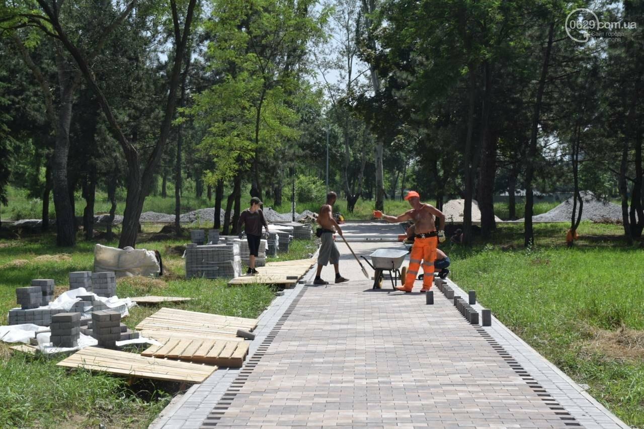 За два месяца до открытия! Как продвинулся ремонт парка им. Гурова, - ФОТОРЕПОРТАЖ, фото-6