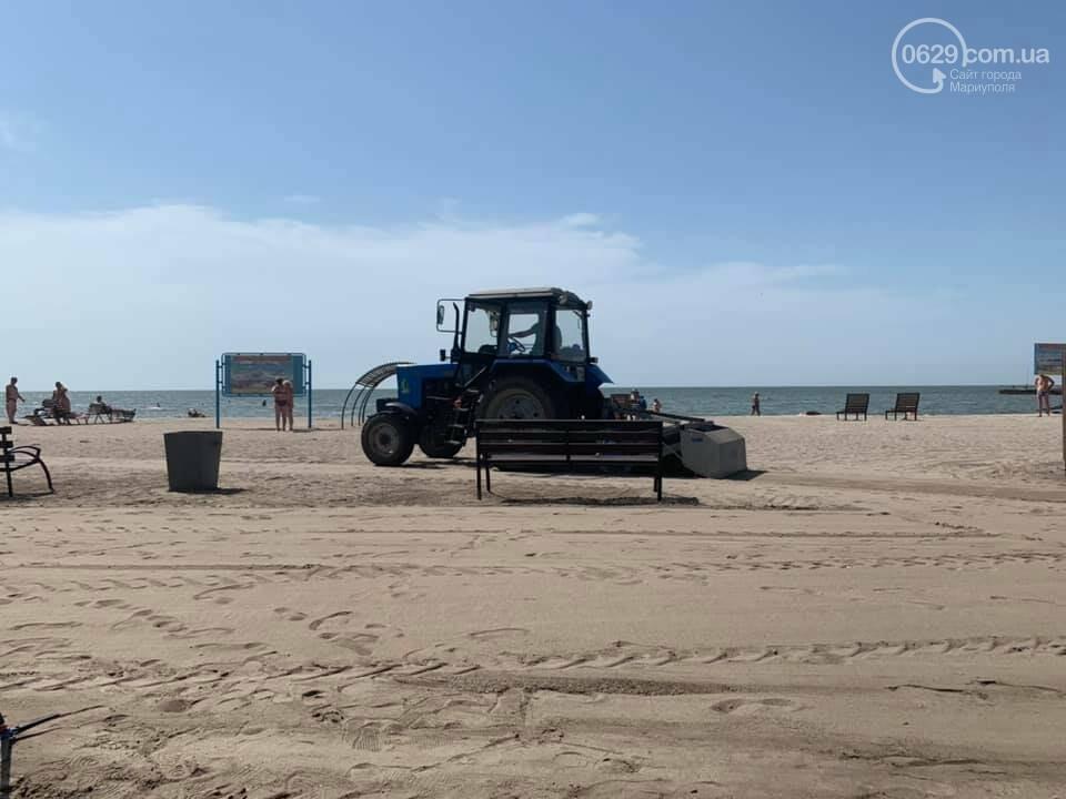 Коммунальщики назвали самый грязный пляж в Мариуполе, - ФОТО, фото-1