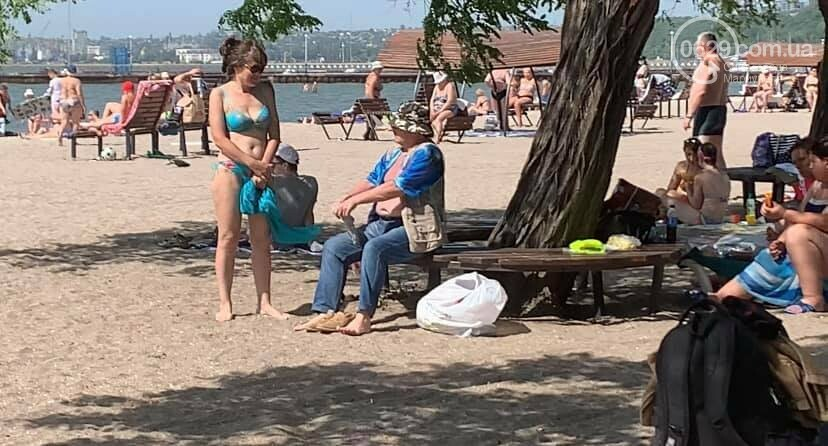 Коммунальщики назвали самый грязный пляж в Мариуполе, - ФОТО, фото-6