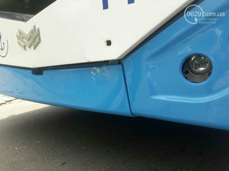 В Мариуполе иномарка врезалась в троллейбус, - ФОТО, фото-3