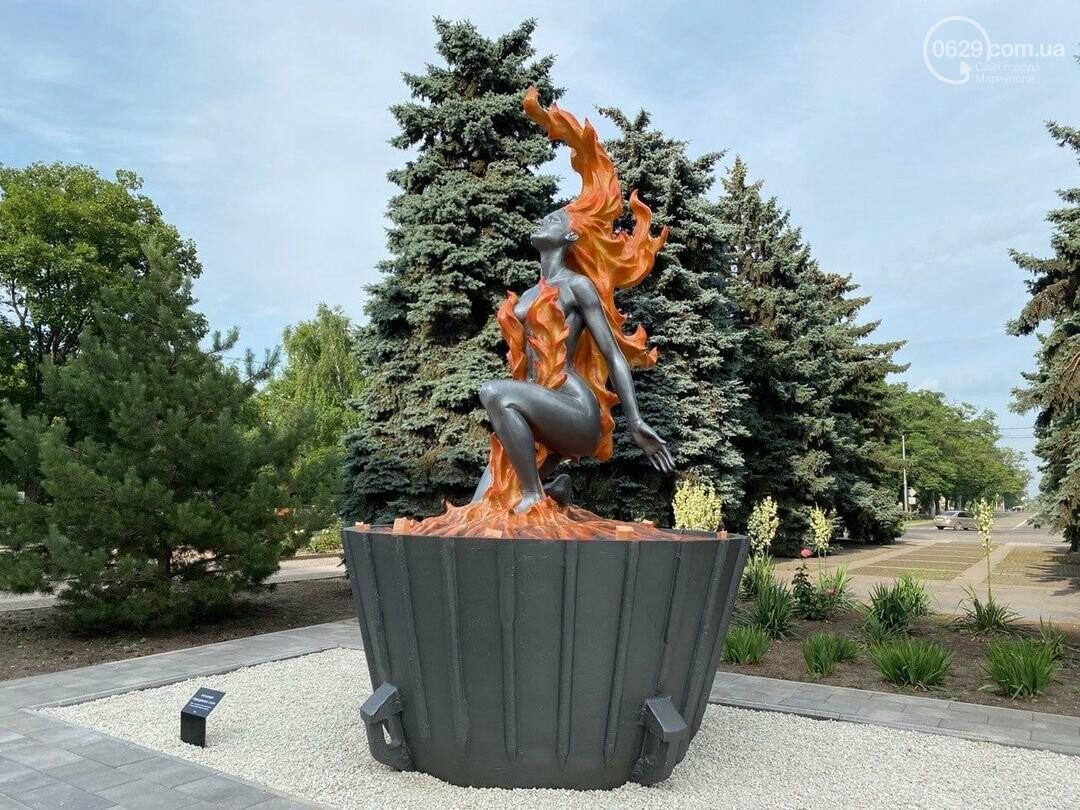 Вместо Орджоникидзе голая дева. Что мариупольцы думают о новой скульптуре Метинвеста, - ФОТО , фото-1