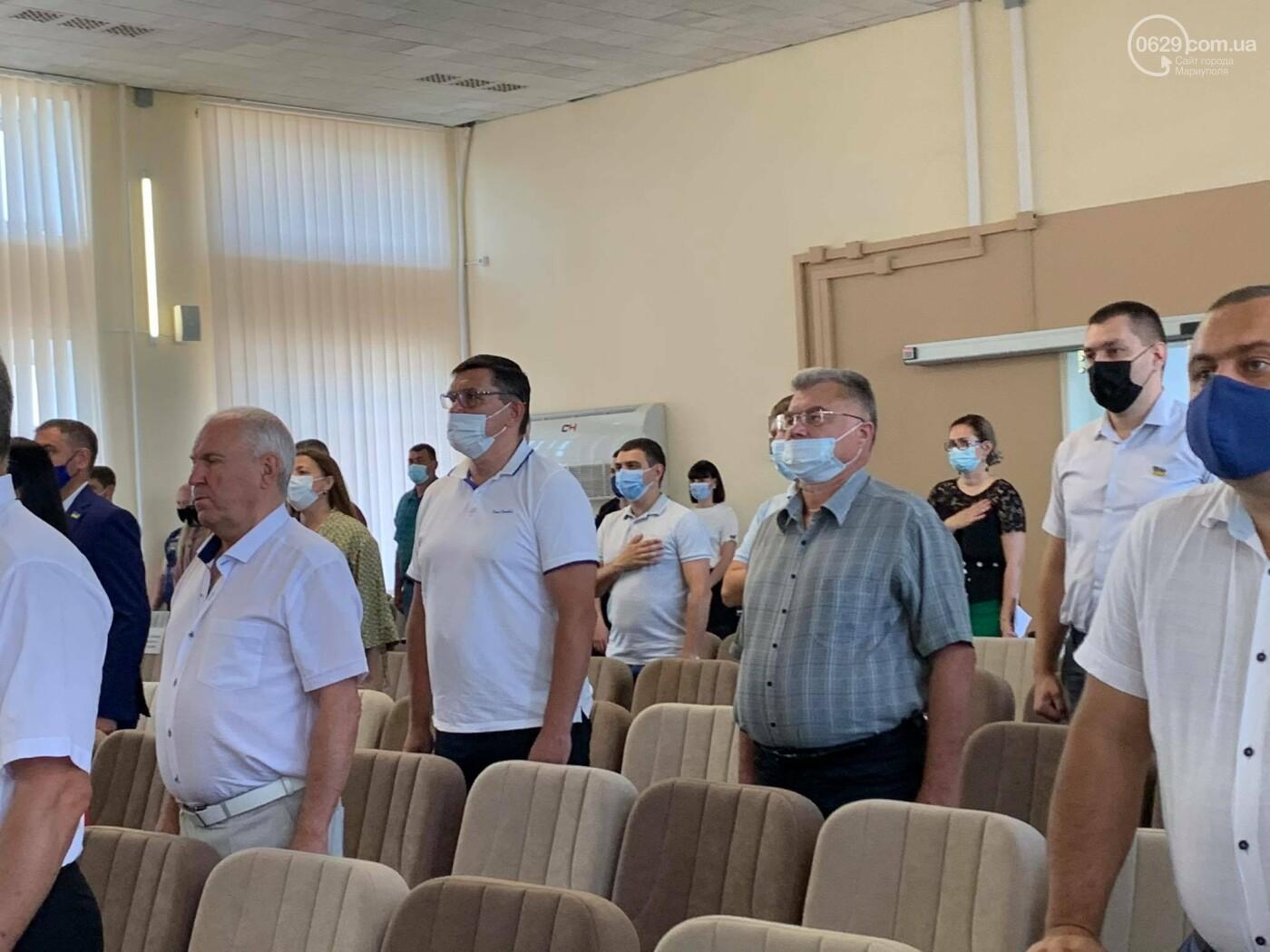 В Мариуполе стартовала сессия горсовета, - ФОТО, фото-8