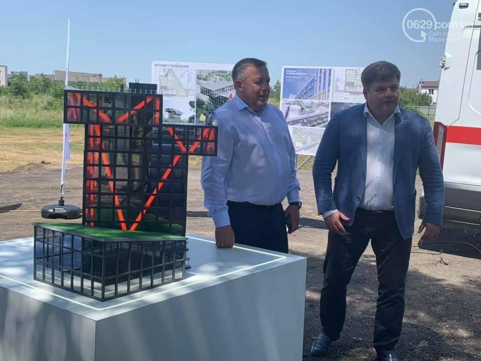"""На месте будущей """"Метинвест Политехники"""" в центре Мариуполя построили макет, - ФОТО, фото-7"""