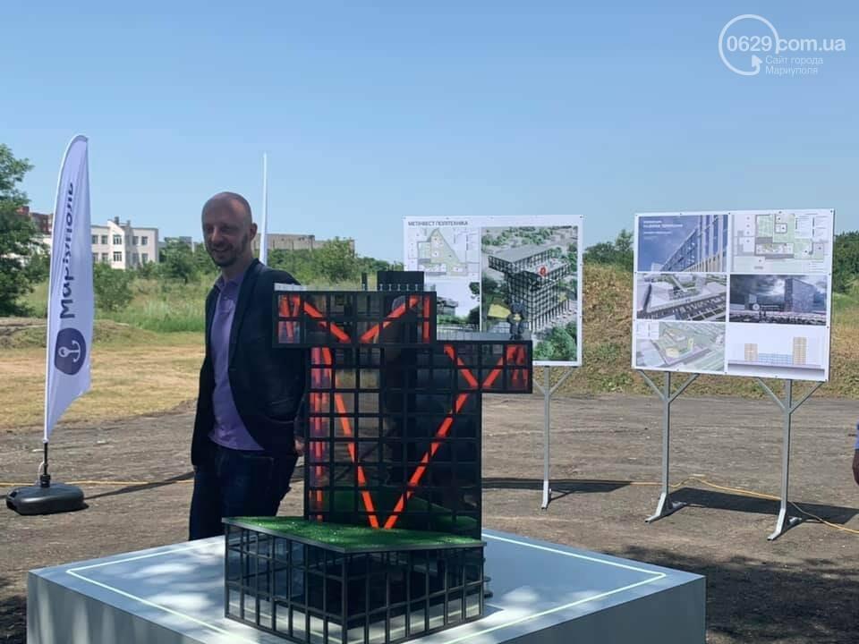 """На месте будущей """"Метинвест Политехники"""" в центре Мариуполя построили макет, - ФОТО, фото-8"""