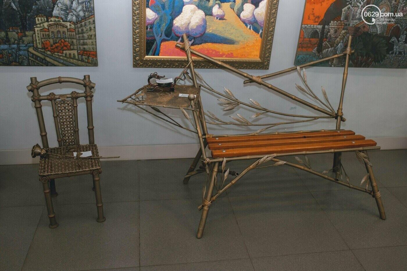 Ковані черепи, пірати та пальми. У Маріуполі відкрилася нова виставка, - ФОТО , фото-16
