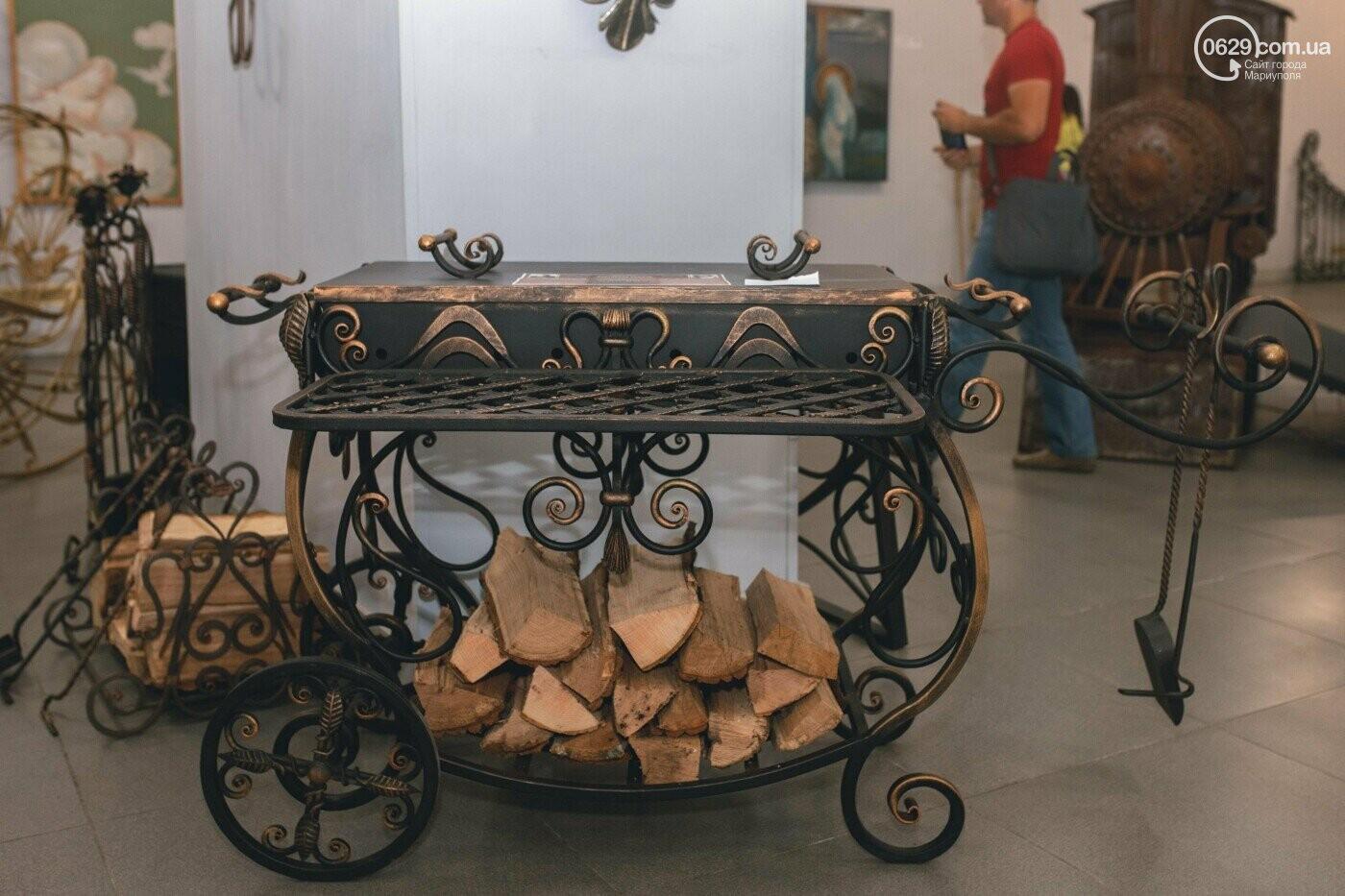 Ковані черепи, пірати та пальми. У Маріуполі відкрилася нова виставка, - ФОТО , фото-23