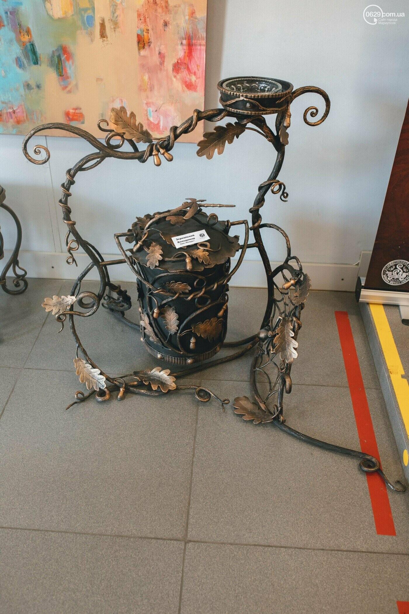 Ковані черепи, пірати та пальми. У Маріуполі відкрилася нова виставка, - ФОТО , фото-3