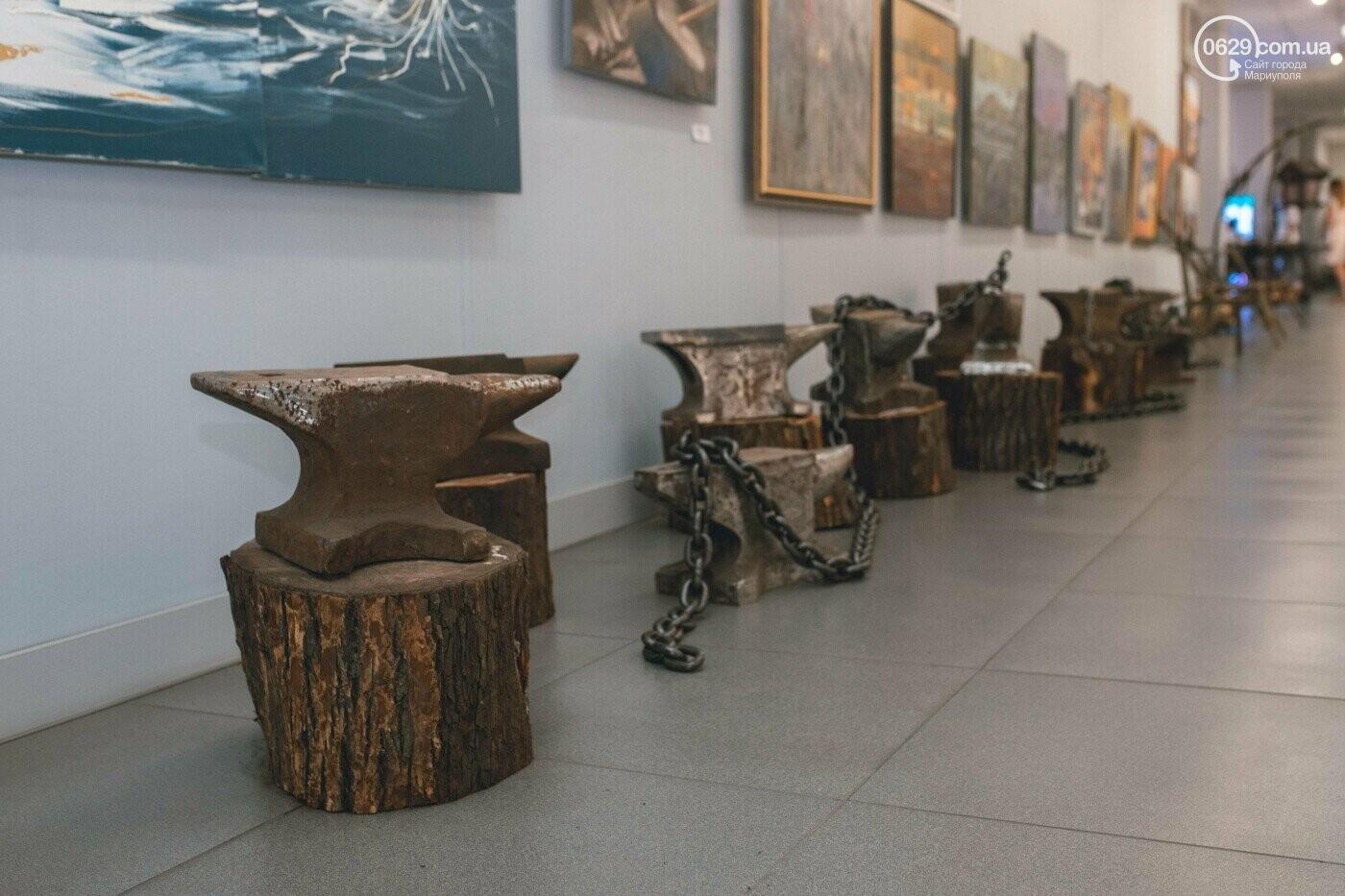 Ковані черепи, пірати та пальми. У Маріуполі відкрилася нова виставка, - ФОТО , фото-4
