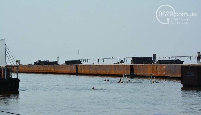 Разлитие опасной краски на Центральном пляже в Мариуполе ликвидировали. Кто наказан, - ФОТО, фото-1