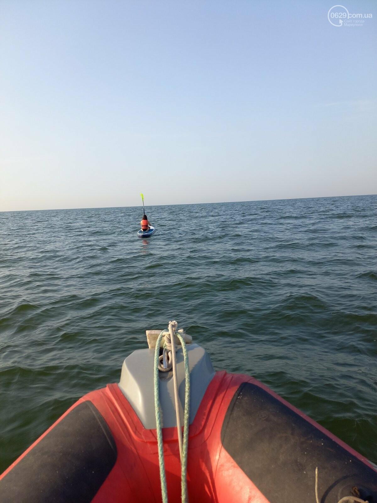 В Мариуполе девушку на  SUP-доске унесло в открытое море, - ФОТО, фото-1