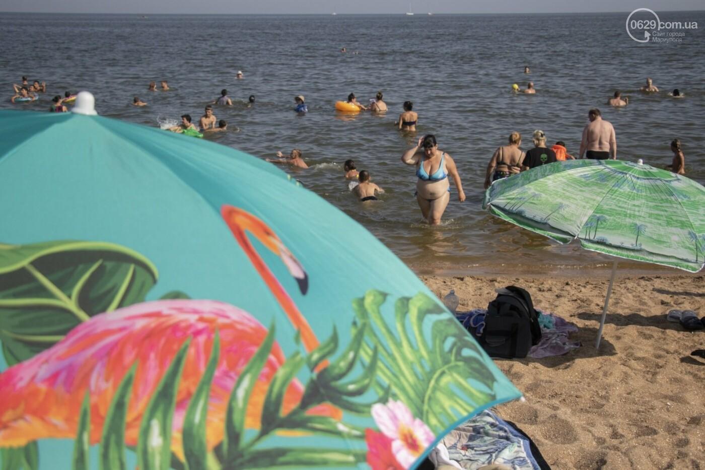 Море «закипело» от отдыхающих. Что творилось в Мариуполе на городских пляжах в выходные дни, - ФОТОРЕПОРТАЖ, фото-13