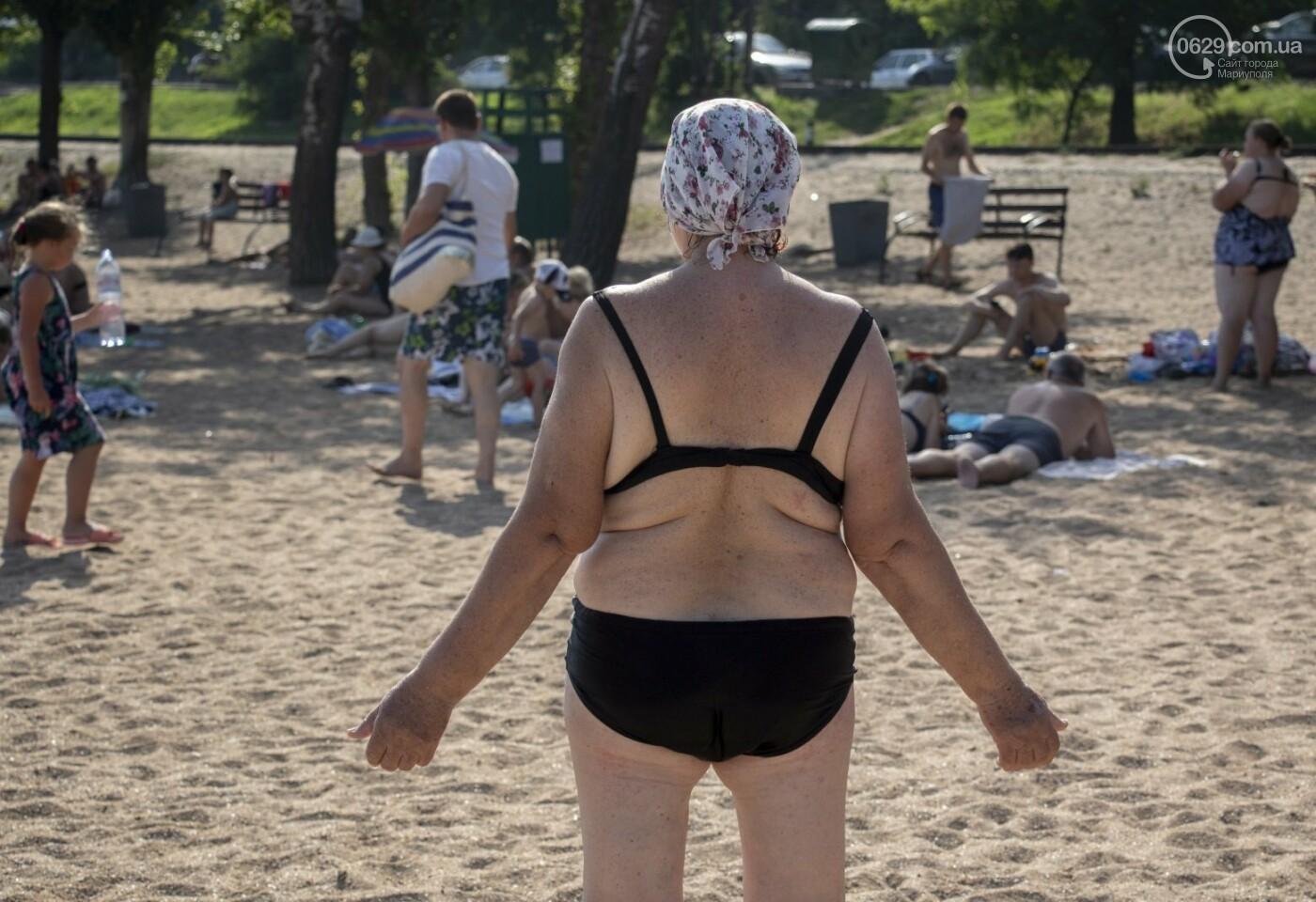 Море «закипело» от отдыхающих. Что творилось в Мариуполе на городских пляжах в выходные дни, - ФОТОРЕПОРТАЖ, фото-30