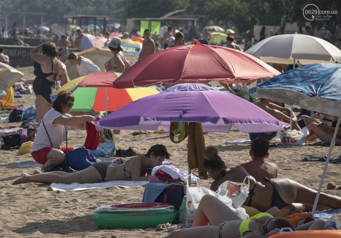 Море «закипело» от отдыхающих. Что творилось в Мариуполе на городских пляжах в выходные дни, - ФОТОРЕПОРТАЖ, фото-23