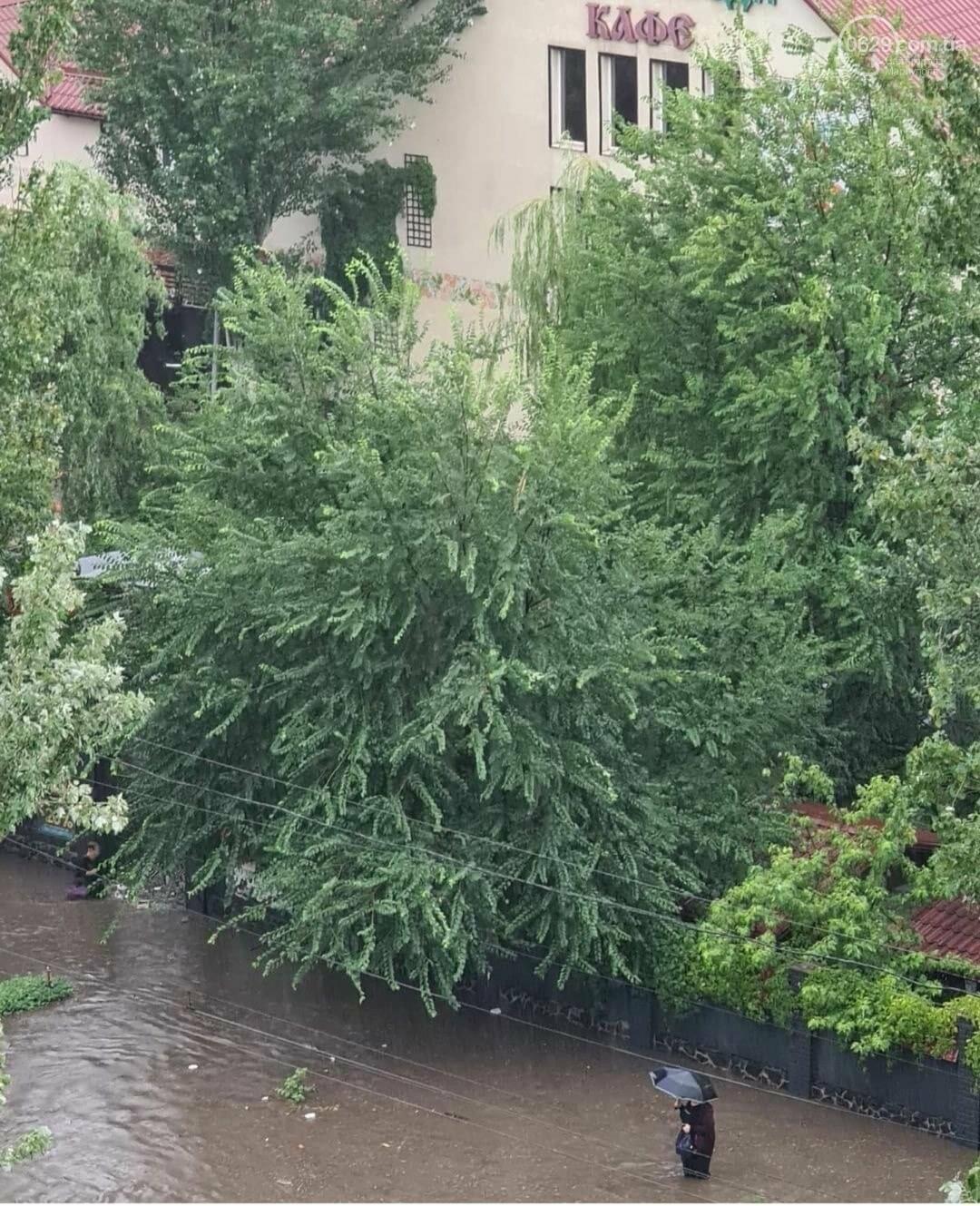 С самого утра на Мариуполь обрушился ливень, - ФОТО, фото-2