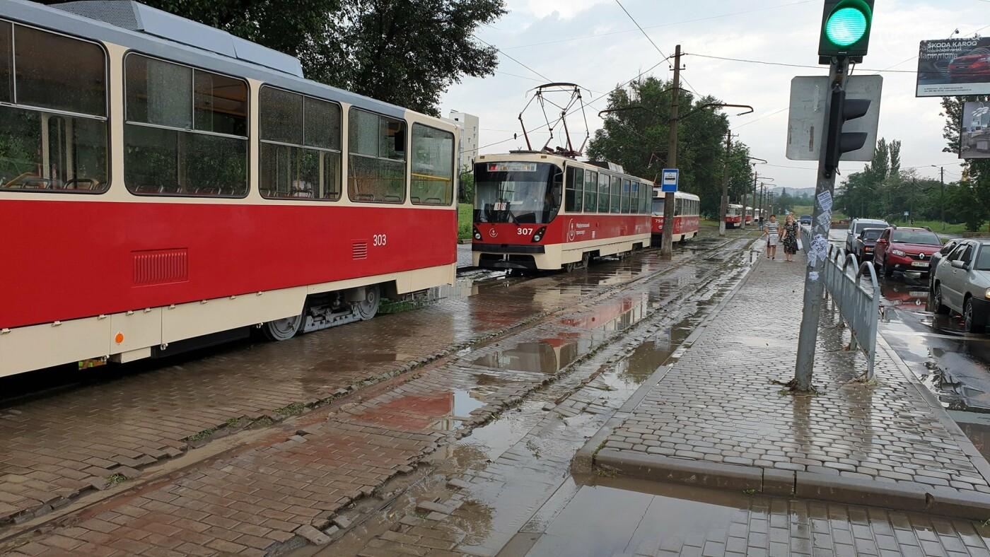 С самого утра на Мариуполь обрушился ливень, - ФОТО, фото-4