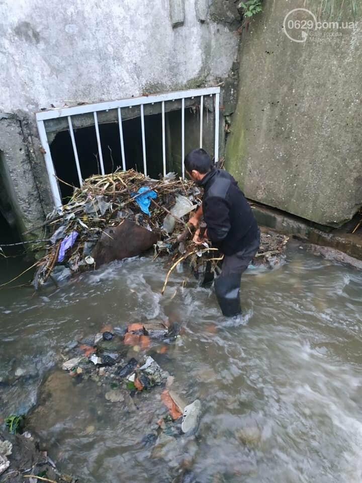 Как в Мариуполе справились с последствиями ливня, - ФОТО, фото-1