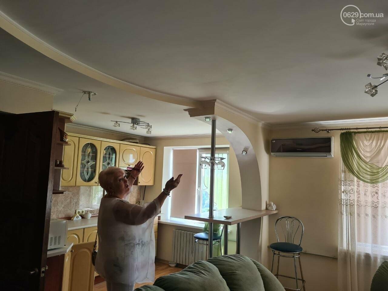 Эхо непогоды! В Мариуполе внепланово ремонтируют пострадавшую от ливня многоэтажку, - ФОТО, фото-23