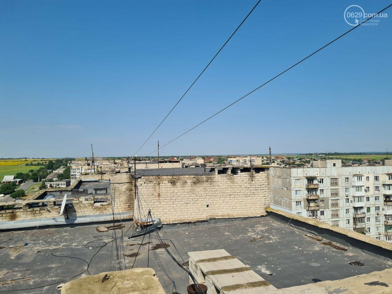Эхо непогоды! В Мариуполе внепланово ремонтируют пострадавшую от ливня многоэтажку, - ФОТО, фото-16