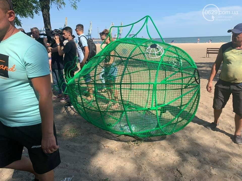 """На мариупольском пляже появились рыбы, """"поедающие""""  пластик, - ФОТО, фото-2"""