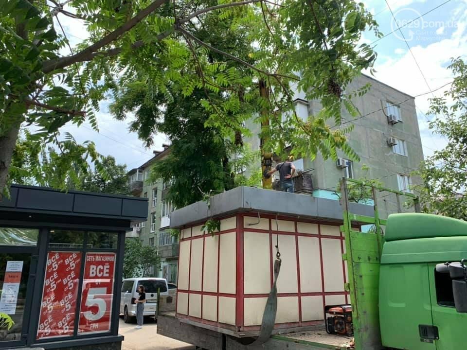 На улице Бахчиванджи со скандалом демонтировали киоск, - ФОТО, фото-5