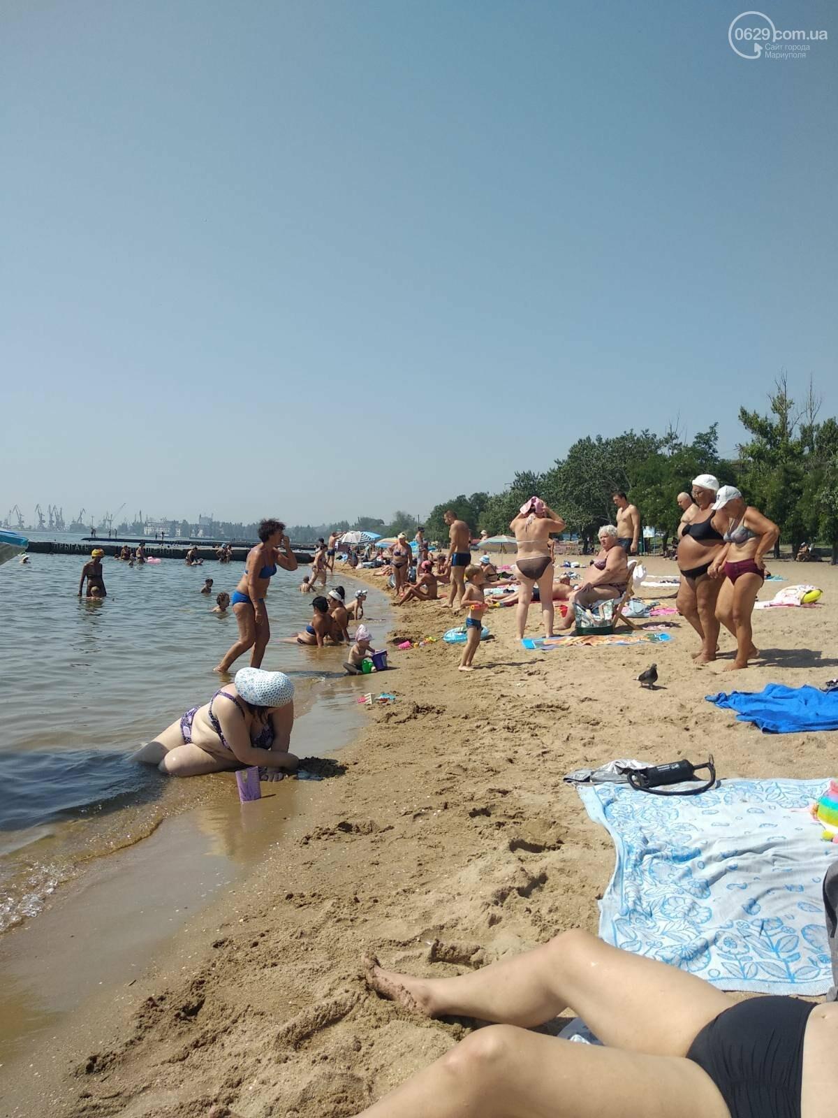 На пляжах Мариуполя – аншлаг. Большая часть отдыхающих – пьяные, - ФОТО, фото-5
