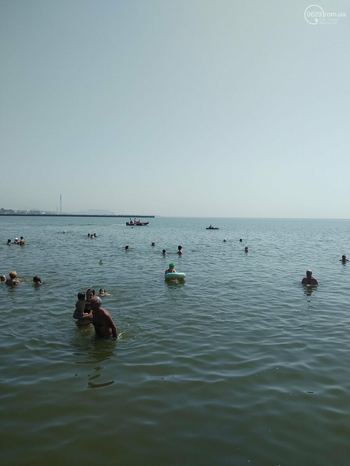 На пляжах Мариуполя – аншлаг. Большая часть отдыхающих – пьяные, - ФОТО, фото-3