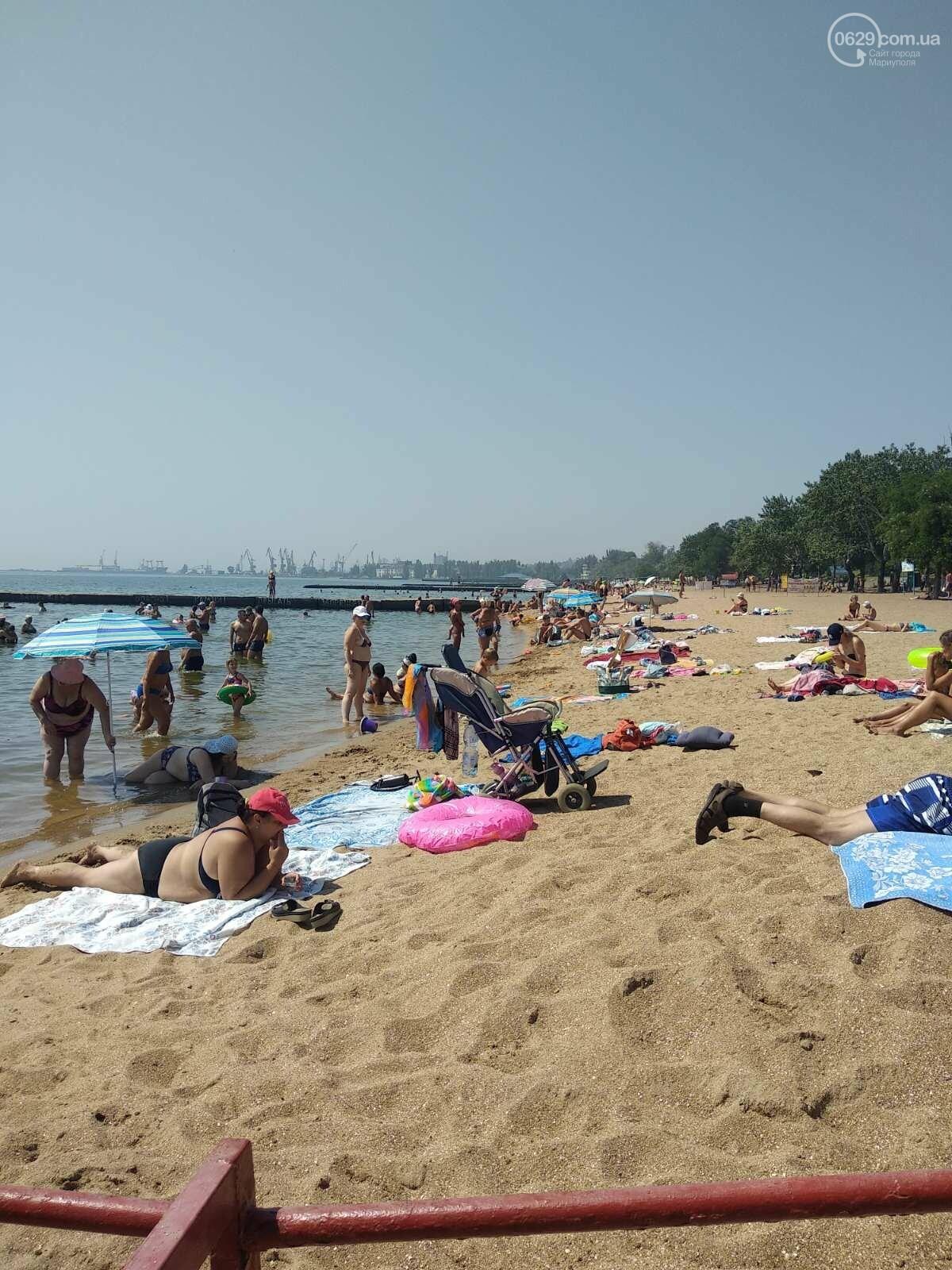 На пляжах Мариуполя – аншлаг. Большая часть отдыхающих – пьяные, - ФОТО, фото-2