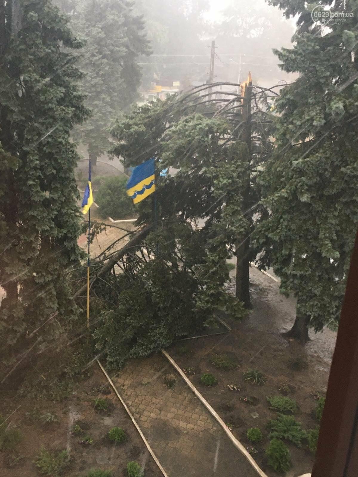 Над Волновахой пронесся ураган,- ФОТО, фото-1