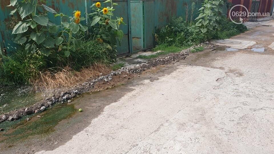 На Левобережье Мариуполя владелец сауны затапливает переулок , - ФОТО, фото-4
