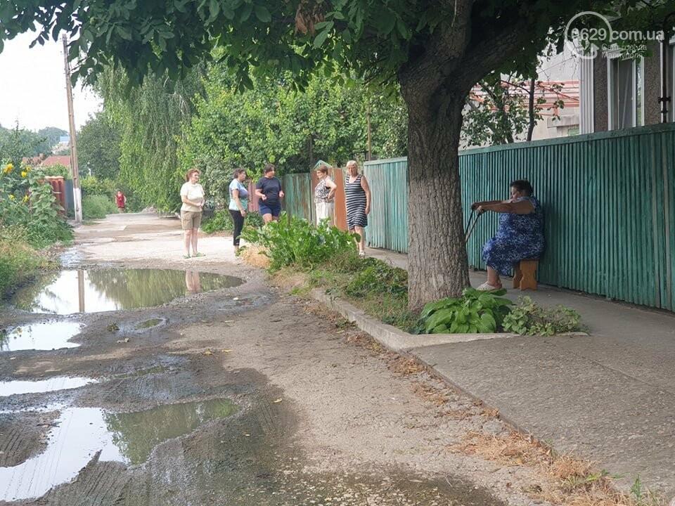 На Левобережье Мариуполя владелец сауны затапливает переулок , - ФОТО, фото-9