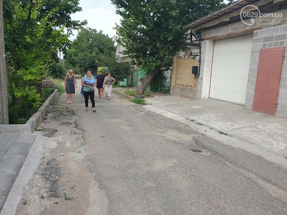 На Левобережье Мариуполя владелец сауны затапливает переулок , - ФОТО, фото-7