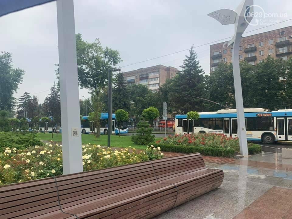 Почему в Мариуполе на проспекте Мира стояли троллейбусы, - ФОТО, фото-3