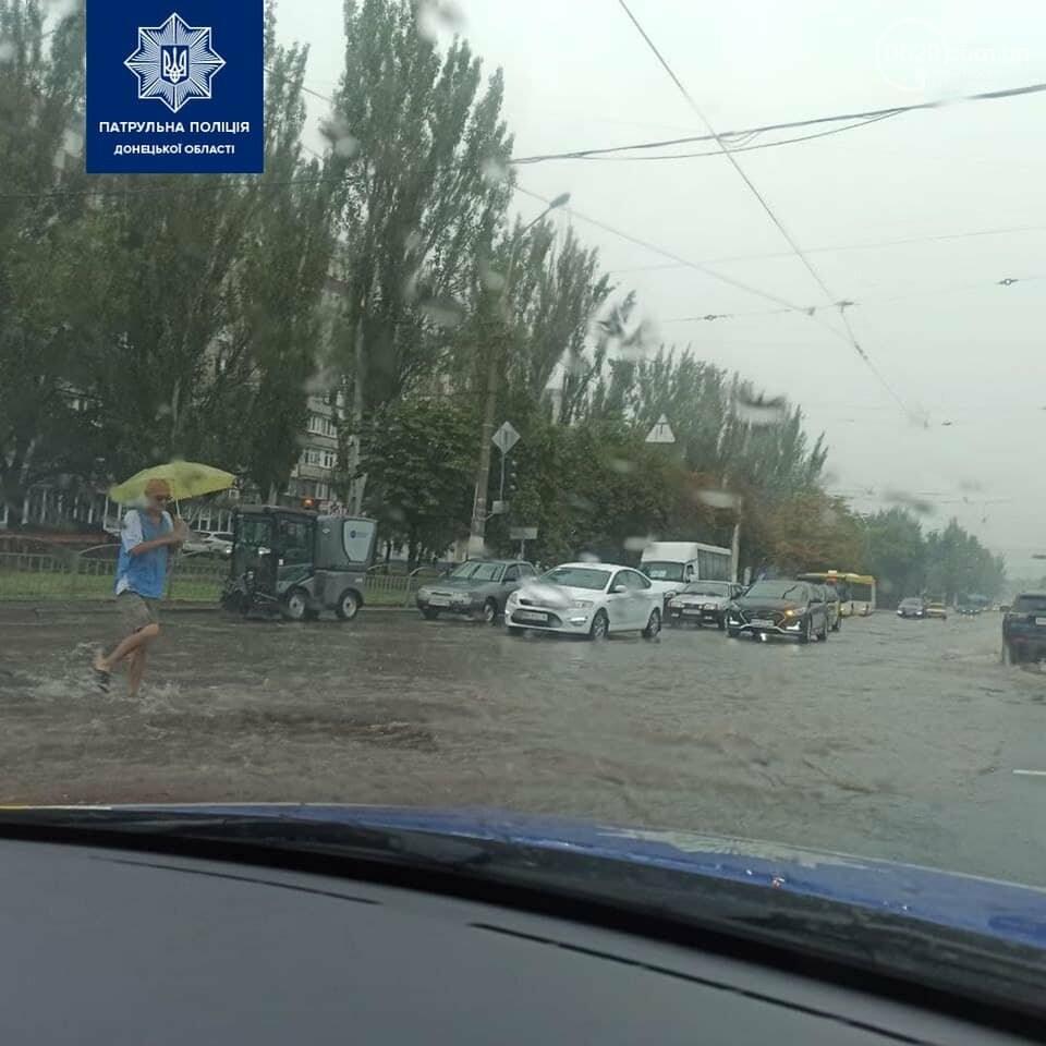 В полиции назвали дороги, которые затопило в результате ливня,- ФОТО, фото-1