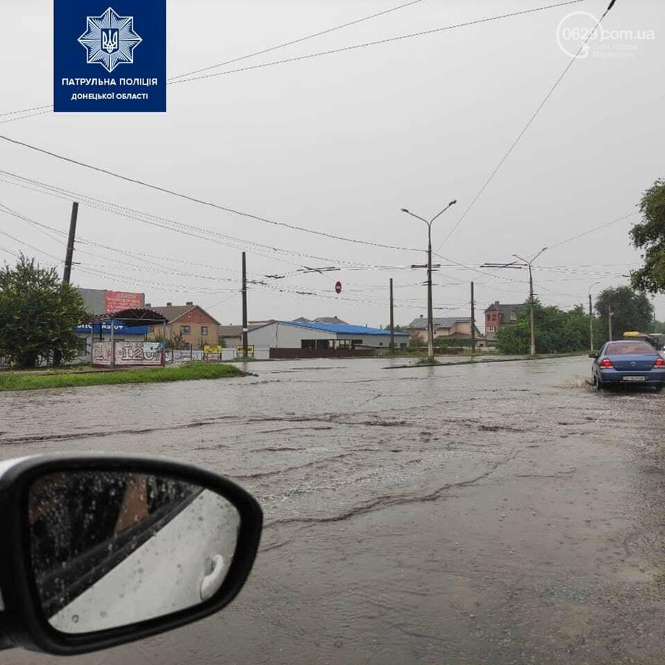 В полиции назвали дороги, которые затопило в результате ливня,- ФОТО, фото-5