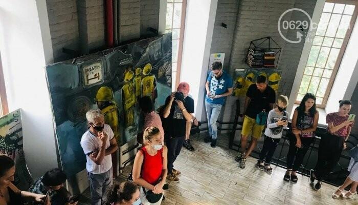 Творили, что хотели. Что увидели художники со всей Украины на мариупольских заводах, - ФОТО, ВИДЕО, фото-2