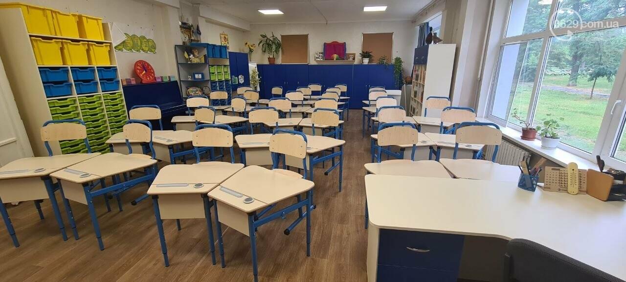 Туалеты с инсталляцией и новые столовые. Как в Мариуполе модернизируют старые школы, - ФОТОРЕПОРТАЖ, ВИДЕО, фото-10