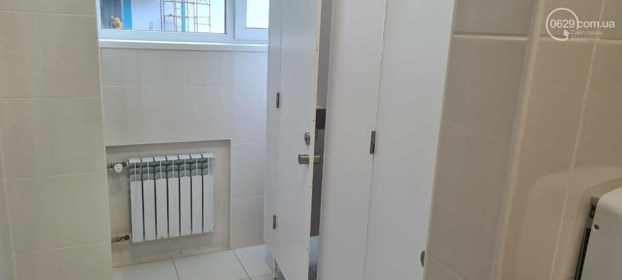 Туалеты с инсталляцией и новые столовые. Как в Мариуполе модернизируют старые школы, - ФОТОРЕПОРТАЖ, ВИДЕО, фото-3