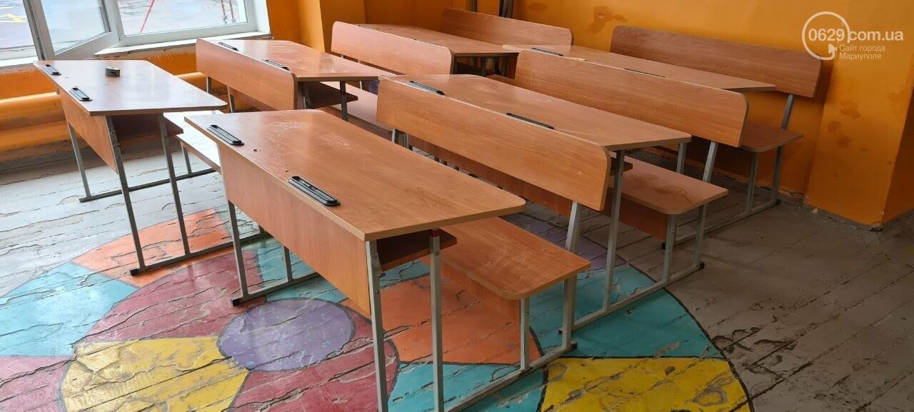 Туалеты с инсталляцией и новые столовые. Как в Мариуполе модернизируют старые школы, - ФОТОРЕПОРТАЖ, ВИДЕО, фото-11