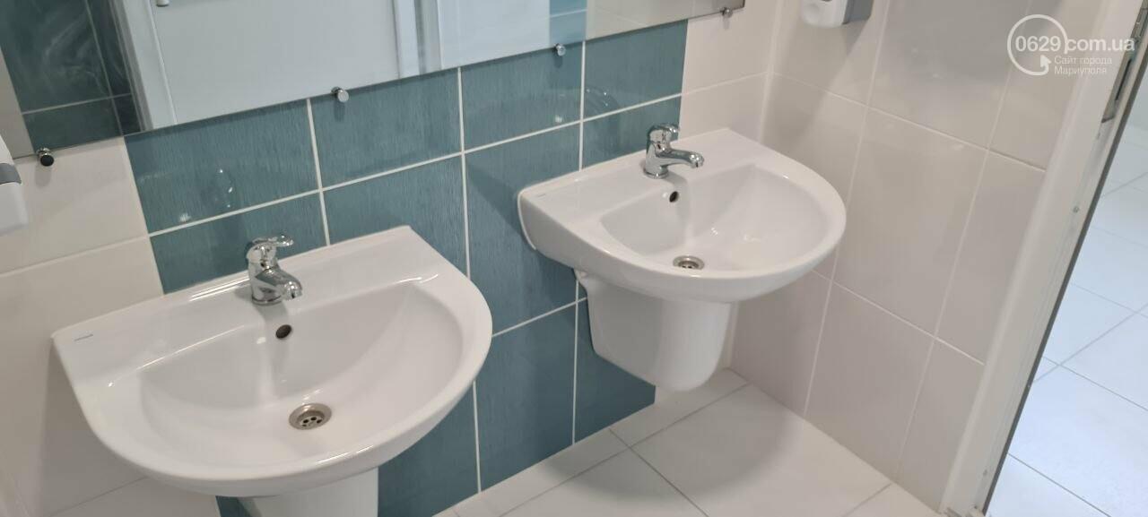 Туалеты с инсталляцией и новые столовые. Как в Мариуполе модернизируют старые школы, - ФОТОРЕПОРТАЖ, ВИДЕО, фото-7