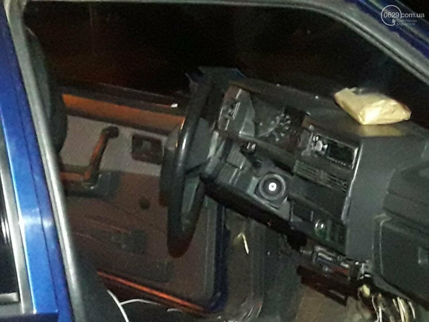 В Мариуполе на улице Громовой ВАЗ  врезался в столб , -ФОТО, фото-4