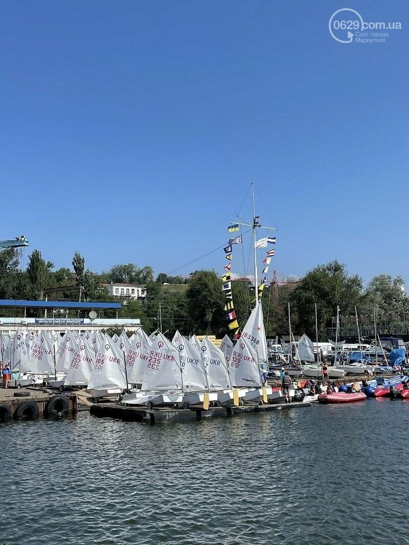 В Мариуполе прошли соревнования по парусному спорту , фото-7