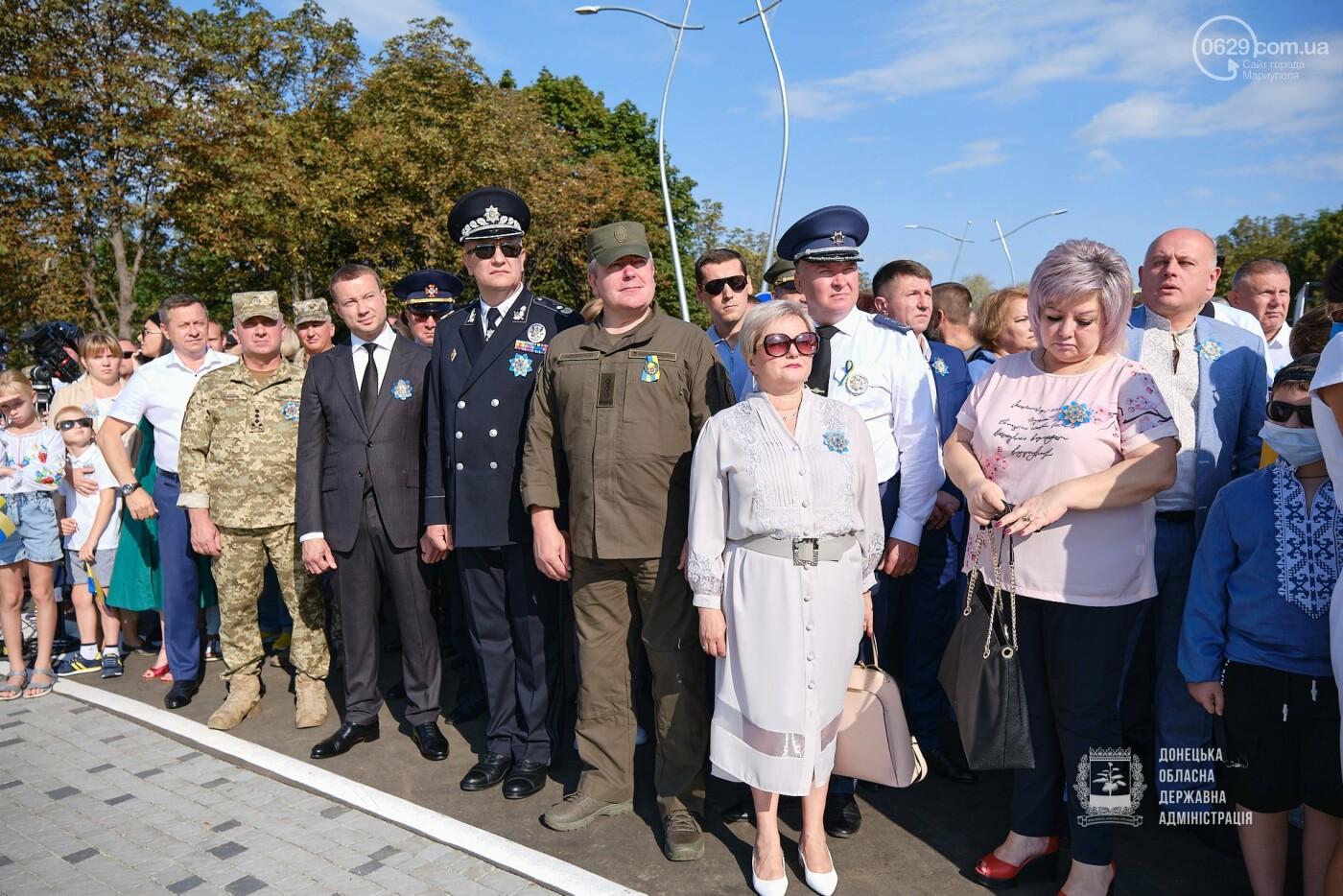 В Донецкой области подняли флаг Украины на 80 метров, - ФОТО, фото-4