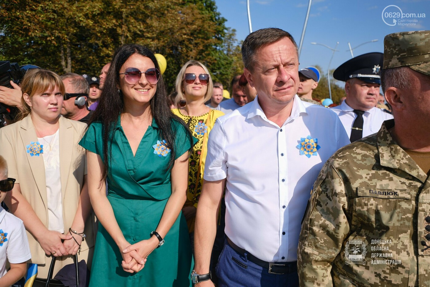 В Донецкой области подняли флаг Украины на 80 метров, - ФОТО, фото-3