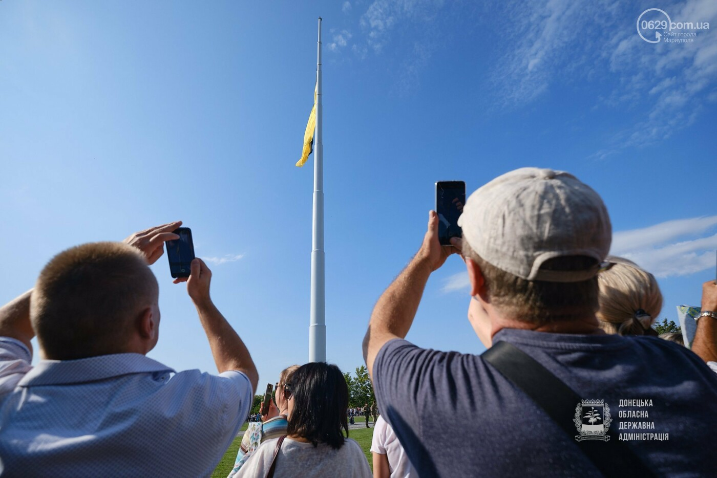 В Донецкой области подняли флаг Украины на 80 метров, - ФОТО, фото-2