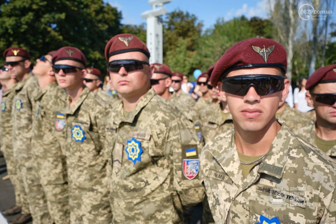 В Донецкой области подняли флаг Украины на 80 метров, - ФОТО, фото-5