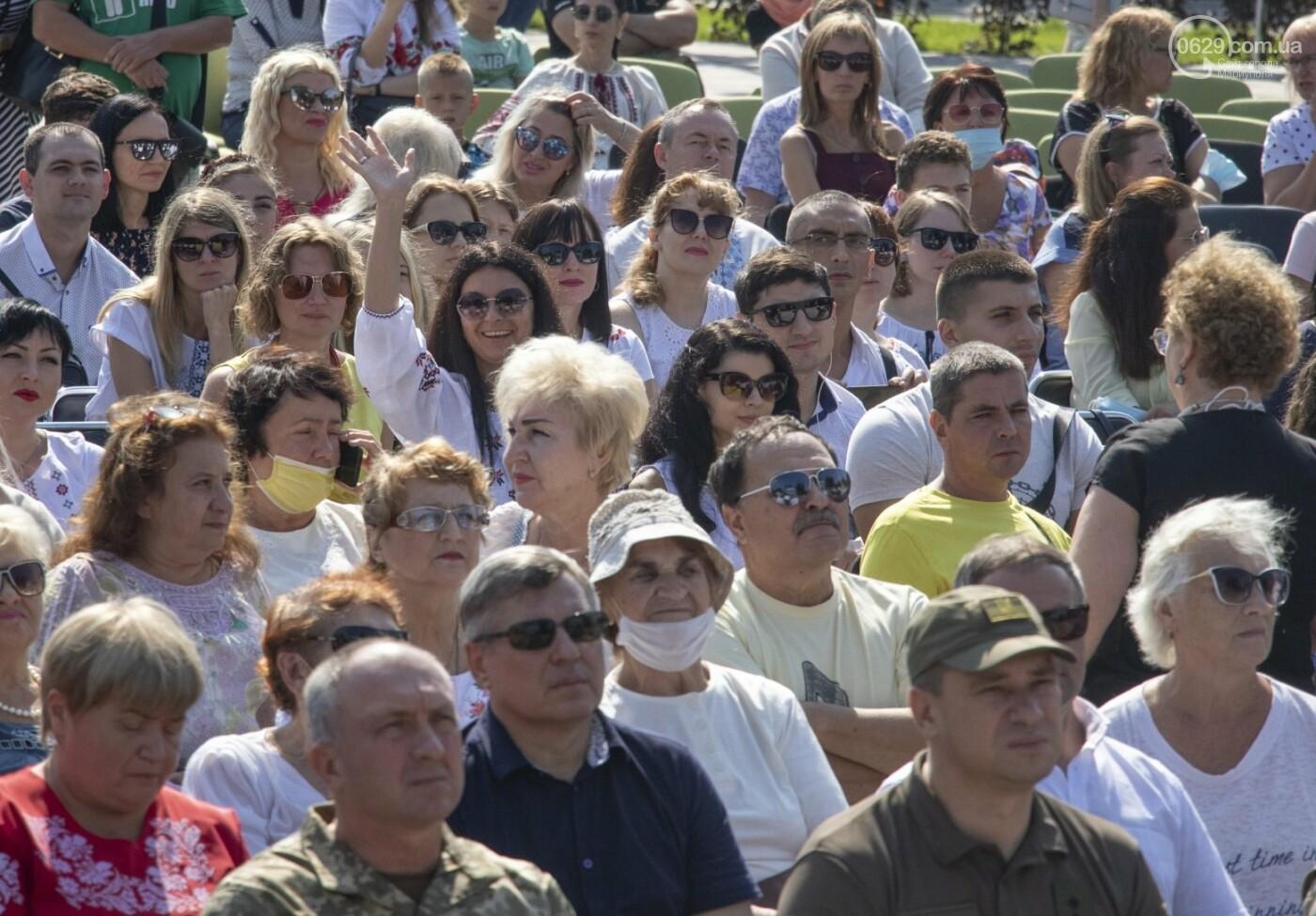 «Відновлення незалежності!» Как Мариуполь отпраздновал 30-летие своей страны, - ФОТОРЕПОРТАЖ, фото-6