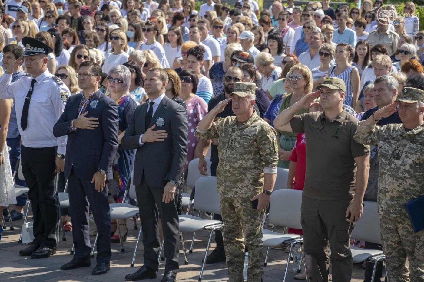 «Відновлення незалежності!» Как Мариуполь отпраздновал 30-летие своей страны, - ФОТОРЕПОРТАЖ, фото-4