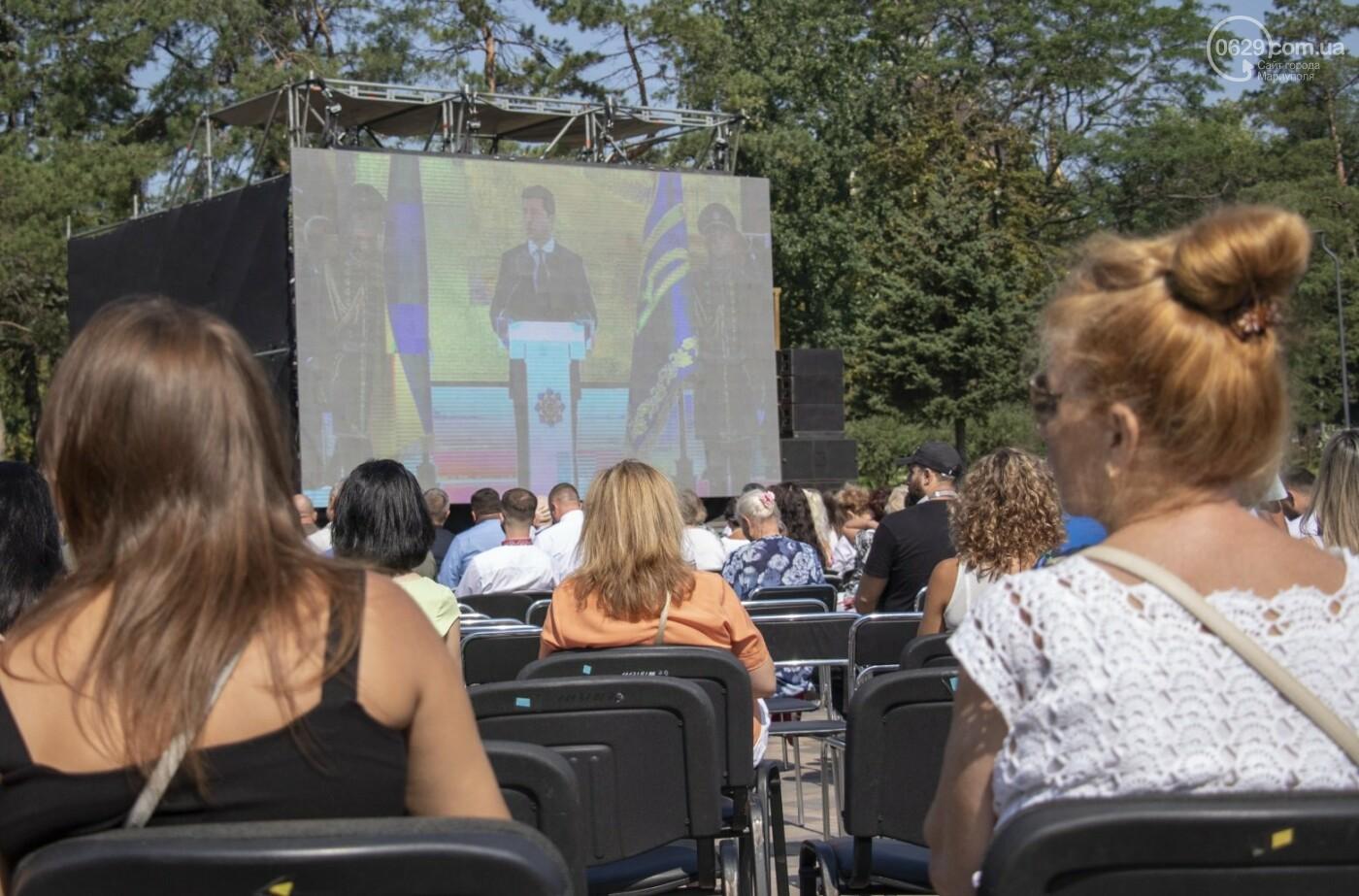 «Відновлення незалежності!» Как Мариуполь отпраздновал 30-летие своей страны, - ФОТОРЕПОРТАЖ, фото-7