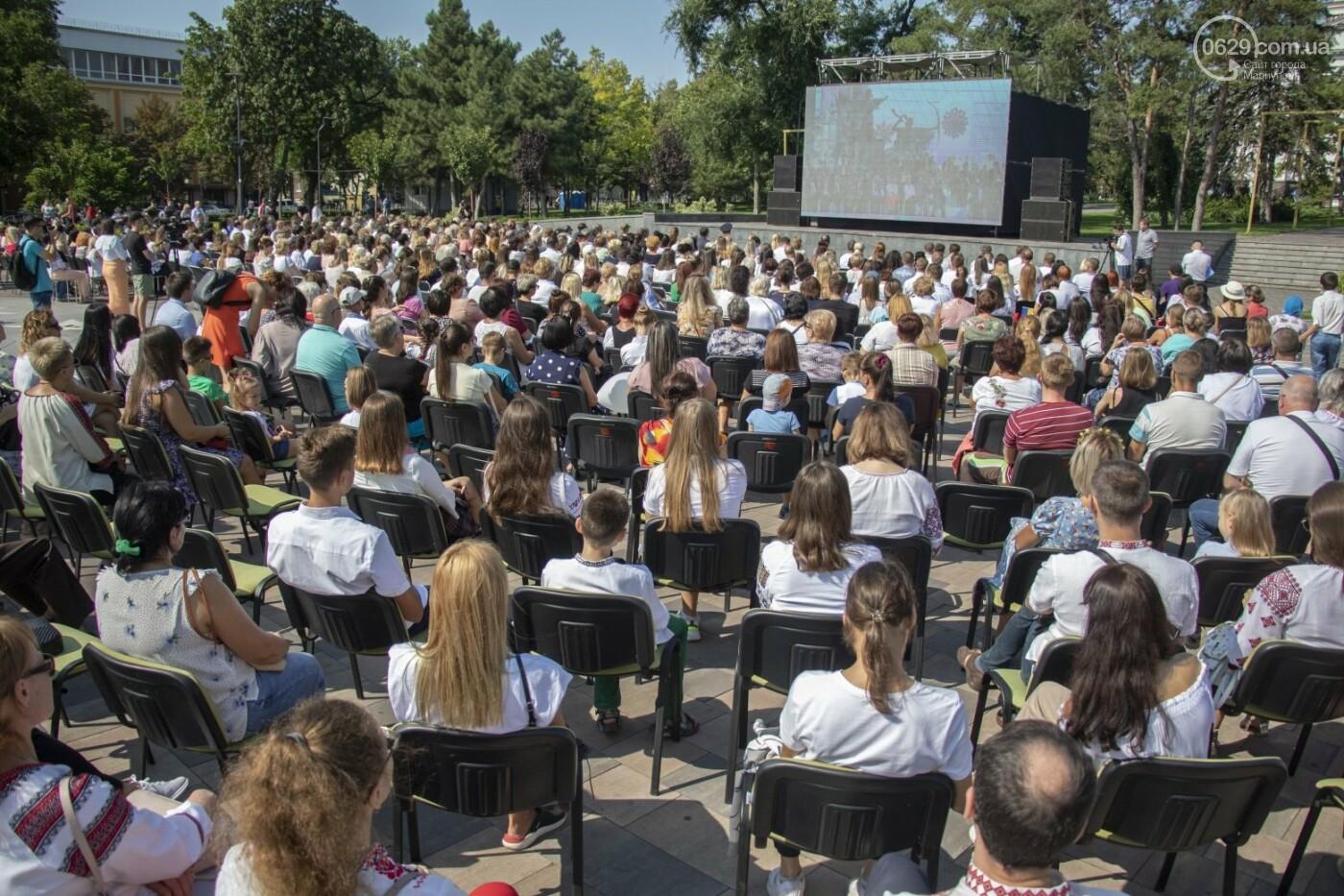 «Відновлення незалежності!» Как Мариуполь отпраздновал 30-летие своей страны, - ФОТОРЕПОРТАЖ, фото-9
